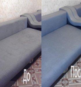 Уборка квартир, домов, хим.чистка мягкой мебели