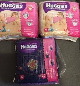 Трусики Huggies 6 размер