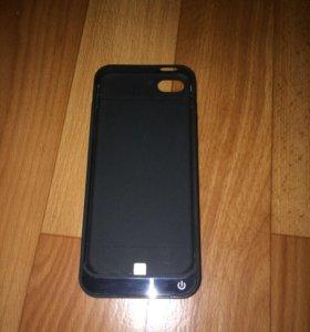 Чехол-зарядка айфон 5s
