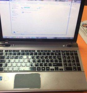 TOSHIBA P855, с Подсветкой Core i7/8gb/750/gf630