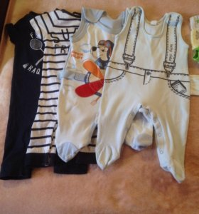 Вещи на мальчика до 6 месяцев