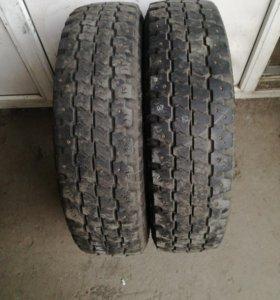 185R14 Bridgestone DR-713 Winter-пара б у шин