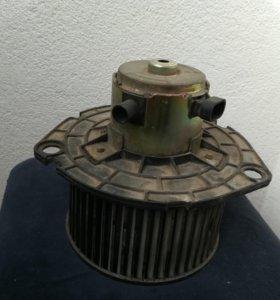 Мотор печки шевроле