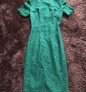 Платье из кружева D&G