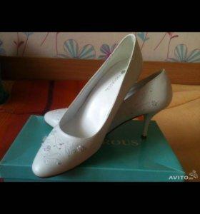 Новые свадебные туфельки