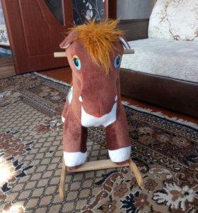 качалка- лошадка