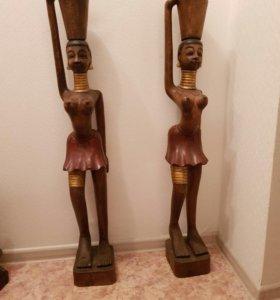Статуэтки из дерева