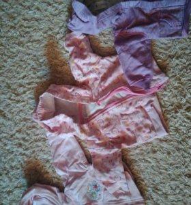 Вещи на девочку 1-3 месяца