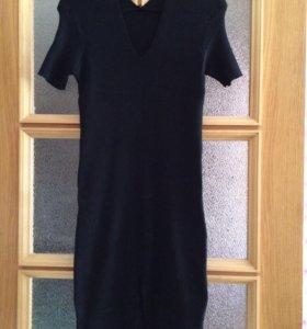 Трикотажное новое платье.