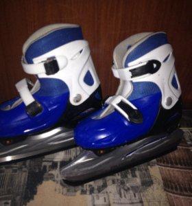 Хоккейный коньки (раздвижные)