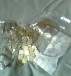 Монеты 1200 шт