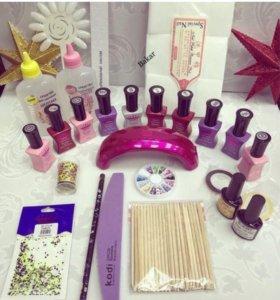 Наборы для наращивания ногтей