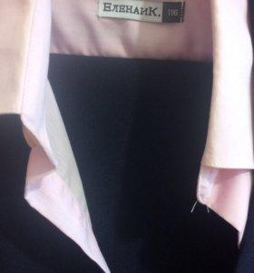Костюм для мальчика,комплек рубашка,жилет и брюки