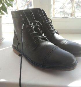 Кожаные ботинки Silver Street