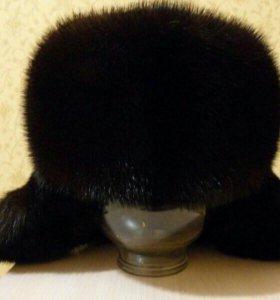 Шапка-Ушанка Норковая(натуральная)