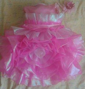 Платье для девочки 10-13месяцев