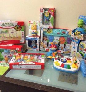 Новые игрушки для маленьких