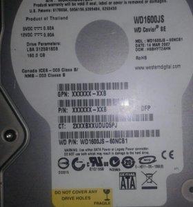 Жёсткий диск для пк 160 gb