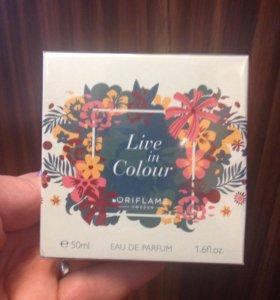 """Туалетная вода """"Live in Colour"""""""