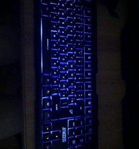 Клавиатура святящаяся
