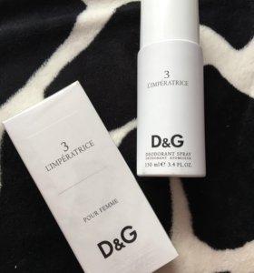 Набор духи и дезодорант от DG - L'imperatrice 3