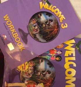 Welcome3 учебник и тетрадь английский язык