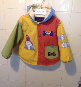 Курточка 86см