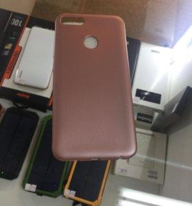 Xiaomi Mi A1 силикон розовый
