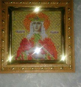 Икона.Святой Людмилы.