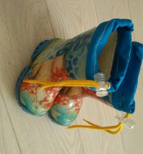Сапоги резиновые детские