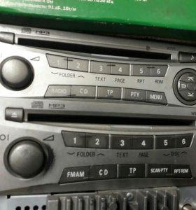 Штатная магнитола Mitsubishi l200