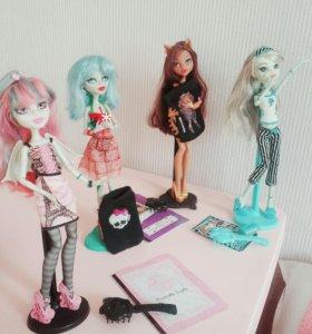 Куклы Монстр хай Monster high