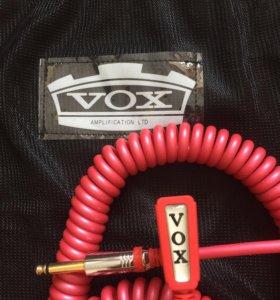 Новый кабель для гитары VOX