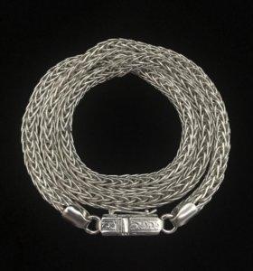 Серебряная цепь, Викинг, 88.3 грамм, 65 см.