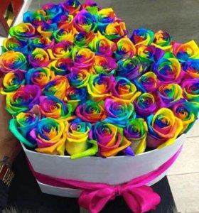 Цветочный букет из Роз