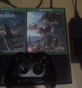 Xbox ONE 500 GB + 2 игры
