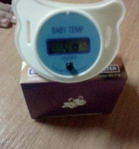 Соска термометр новая