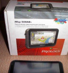 GPS-навигатор Prology iMap-508AB+ б/у