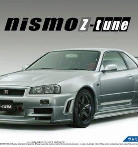 Сборная модель Nismo BNR34 Skyline GT-R Z-tune '04