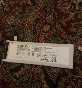 Аккумулятор батарея на Sony