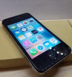 Потрясный Apple iPhone 4S Black оригинал