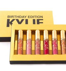 Набор Kylie Birthday Edition 6 оттенков