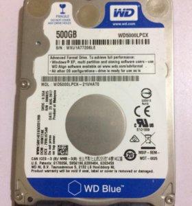 Жёсткий диск. 500г