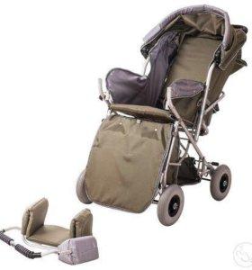 Новая Детская прогулочная кресло-коляска Василиса2