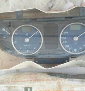 Приборная панель на газ