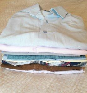 Рубашки мужские 8шт. р46-48