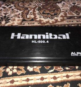 Усилитель Hannibal hl 500.4