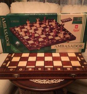 Шахматы подарочные «АМБАССАДОР»