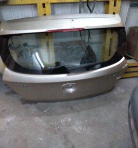 Крышка багажника на Хендай Солярис