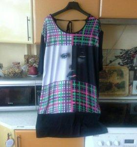 Платье туника54-56-58